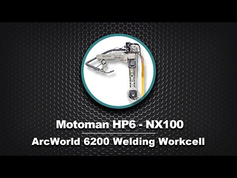 Motoman ArcWorld 6200 with Two HP6 NX100 robots