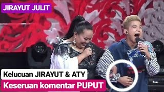 JIRAYUT & ATY KODONG Bikin NGAKAK, Mau Gandeng Salah Posisi