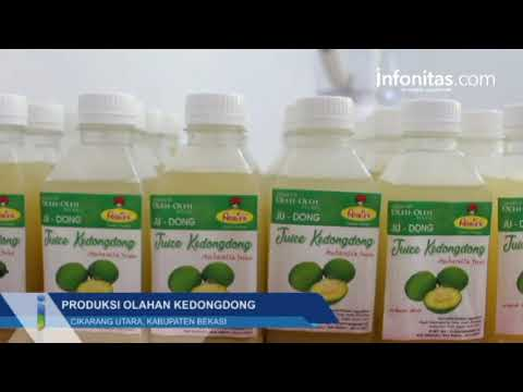 Produksi Olahan Kedongdong di Cikarang Utara, Kabupaten Bekasi