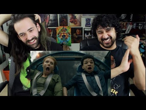 JURASSIC WORLD FALLEN KINGDOM - Official TRAILER REACTION w/ THE REEL REJECTS!!!