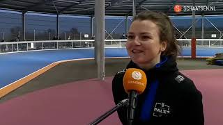Elsemieke van Maaren wint bij eerste wedstrijd: 'Het was een spannend dagje'