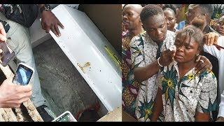 This will make you cry! Mad Melon of 'Danfo Driver Kids Burst Into Tears As as they open his Casket