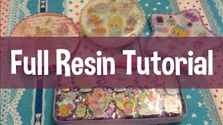 ❤ Full Resin Tutorial ❤