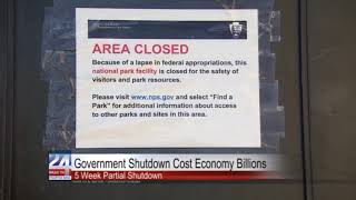 Government Shutdown Cost Economy Billions
