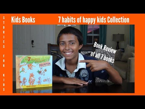 7 Habits Of Happy Kids Book Collection Review