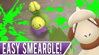 Smeargle  - (Pokémon) - FAST & EASY WAY TO CATCH SMEARGLE IN POKEMON GO! Stop Making This One Simple Mistake!