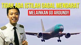 PESAWAT GAGAL MENDARAT  !!!   TANYA PILOT