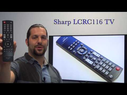 SHARP LCRC116 TV Remote Control