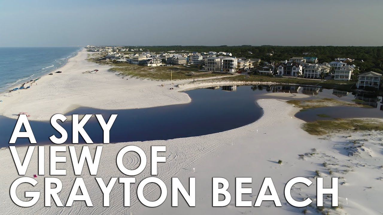 A Sky View of Grayton Beach