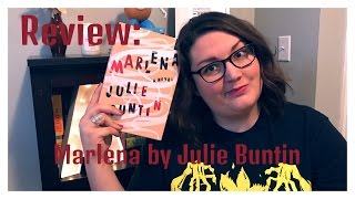 Review   Marlena by Julie Buntin
