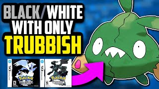 CAN YOU BEAT POKÉMON BLACK WITH ONLY A TRUBBISH!? (No Items In Battle Challenge)