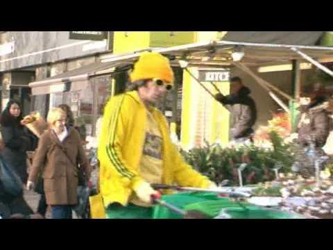 Ziggy Dust - Tańczący Polak na ulicach Londynu