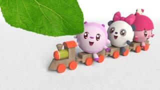 Умные песенки для самых маленьких | Малышарики - Зелёный