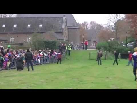 Aankomst Sinterklaas in Boxmeer 17 november 2012