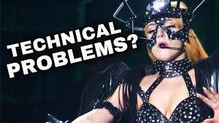 Lady Gaga - Technical Difficulties ON STAGE Compilation! [PART 2] (2020)