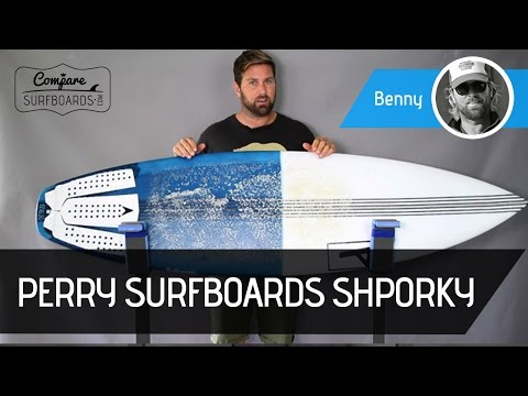 Perry Surfboards Shporky Surfboard Review + Lost Futures Fins | Compare Surfboards