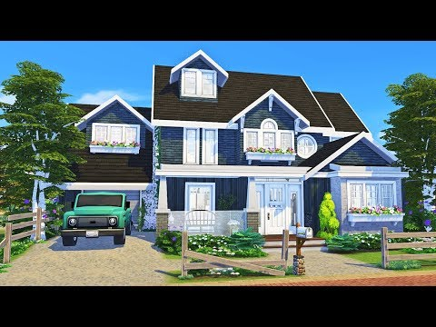 Updated Craftsman || The Sims 4 Family Home: Speed Build