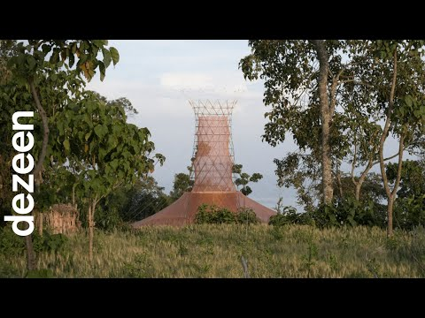 Warka Water towers harvest drinkable water from the air