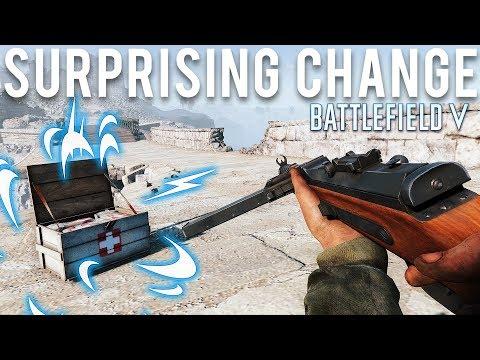 Battlefield 5 gets a surprising change
