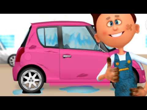 Машинки. Развивающий мультик. Такси. Автосервис.