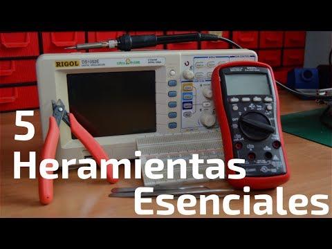 5 Herramientas Esenciales para Iniciarse en Electrónica