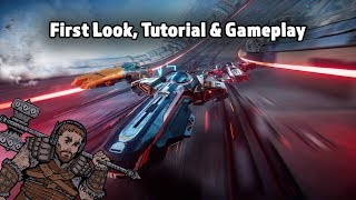 ANTIGRAVIATOR - First Look, Tutorial & Gameplay
