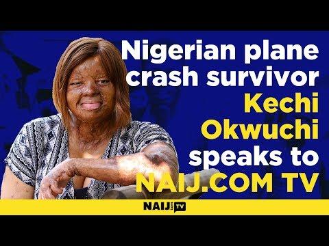 My life after the plane crash – Nigerian plane crash survivor Kechi Okwuchi speaks to Legit TV
