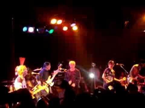 Billy Idol singing LA WOMAN w/ Robby Krieger of The Doors