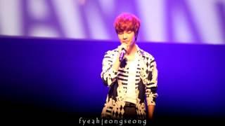 [HD 1080p fancam] 잘 지내니(My Dear) - Jeongmin solo @ Boyfriend Asia Fanmeet in SG