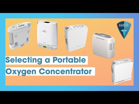 Selecting a Portable Oxygen Concentrator