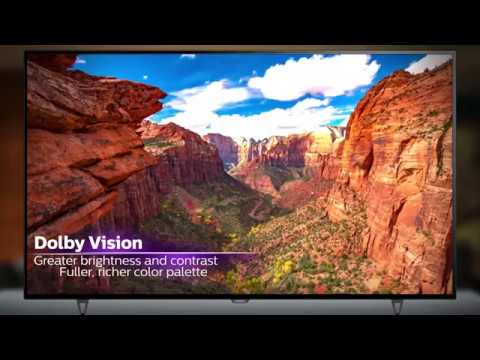 Philips 6000 series TVs featuring Dolby Vision (2017)