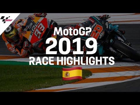 MotoGP 2019年に行われたMotoGP バレンシアGP レースハイライト動画