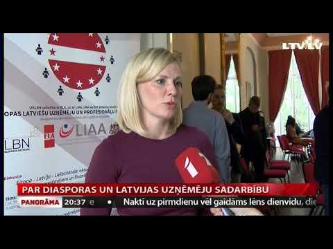 VIDEO: Eiropas Latviešu uzņēmēju un profesionāļu forumā spriež par ciešāku iesaisti Latvijas izaugsmē
