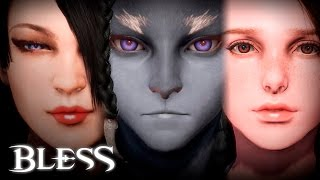 Bless - Female Character Creation - Final Test - F2P - KR