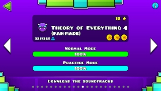 THEORY OF EVERYTHING 4 (?) (Fan Made) | Geometry Dash 2.1 : TOE IV - Im Fernando (Future Of Gd XD)