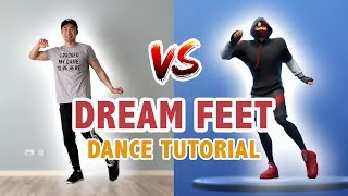 How To Do Dream Feet In Real Life (Step By Step Dance Tutorial) | Learn How To Dance