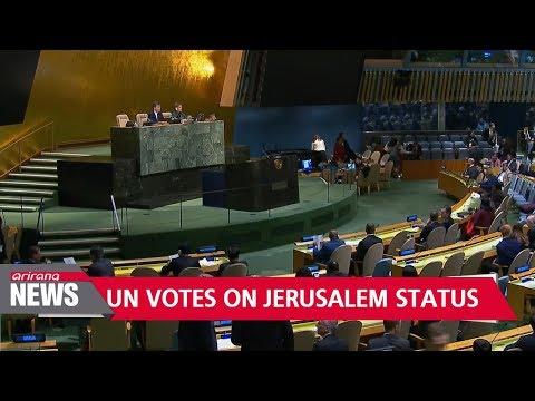 128 countries at UN condemn Trump's Jerusalem decision