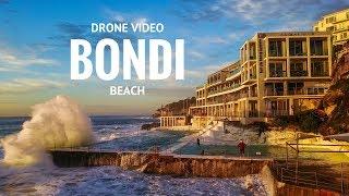 BONDI Beach drone video