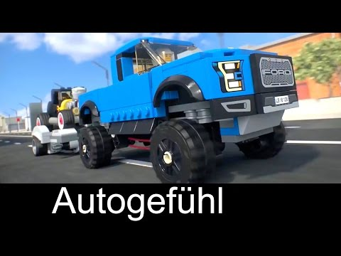 Ford Lego Speed Champions commercial with F-150 Raptor & Hot Rod - Autogefühl