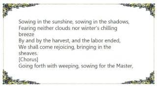 Hank Jones - Bringing in the Sheaves Lyrics