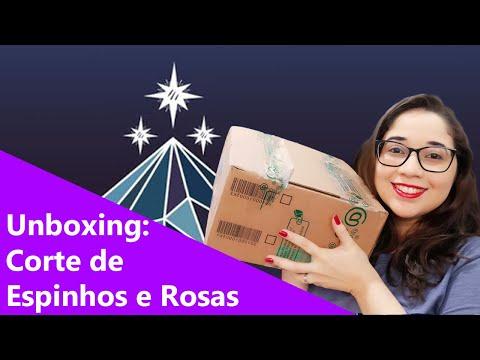 UNBOXING CORTE DE ESPINHOS E ROSAS -  Detalhes da edição 🌹📚🎒 | Biblioteca da Rô