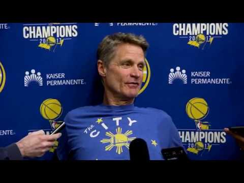 Warriors' Steve Kerr gives Steph Curry injury update and more   ESPN