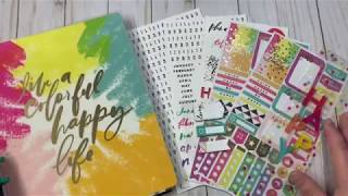 Happy Planner Undated Kit Unboxing