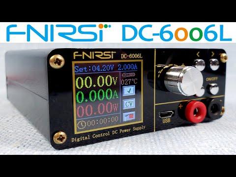 FNIRSI DC-6006L: портативный понижающий DC-DC конвертер напряжения. Помощник выездным мастерам