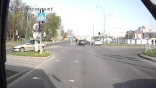 ДТП на перекрестке ул.Сябровская и ул.Рябиновая