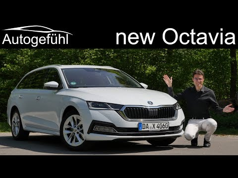 all-new Skoda Octavia FULL REVIEW driving 2020 Combi Estate Kombi - Autogefühl