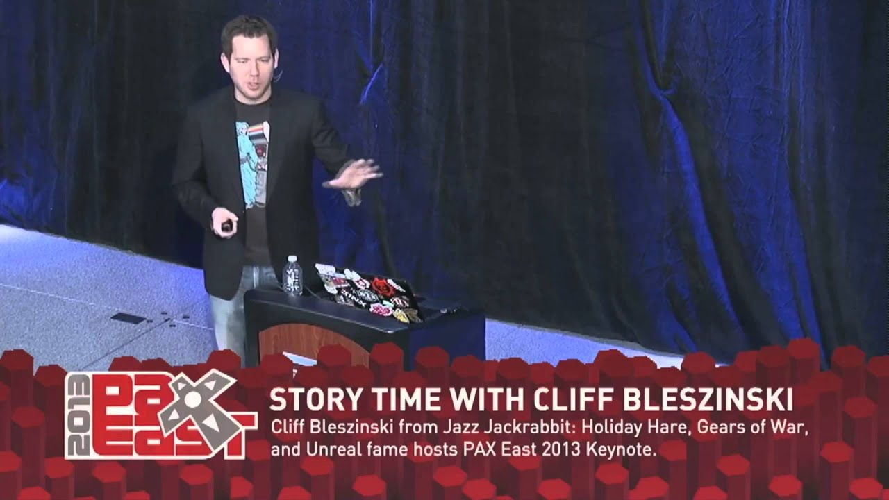 Watch Cliff Bleszinski Talk About How Video Games Changed His Life