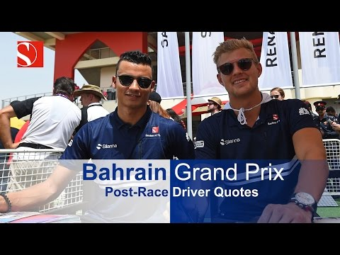 2017 Bahrain Grand Prix - Race Report - Sauber F1 Team
