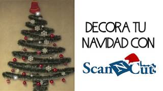 Decora tu Navidad con Scan N Cut