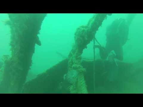 Diving Malta: Kalkara Creek / Grand Harbour / SS MARGIT, Wrack SS Margit / Kalkara Creek / Grand Harbour,Malta